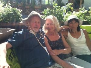 Cafebesök med Robban och Ami