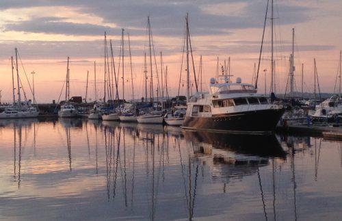 Hamnen i Kirkwall
