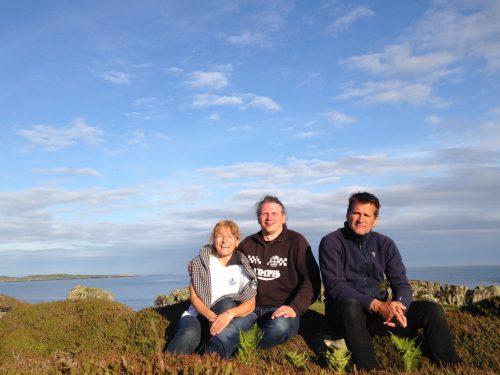 Trio på Islay