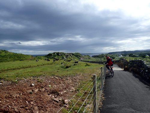 Nyasfalterad cykelväg 😀