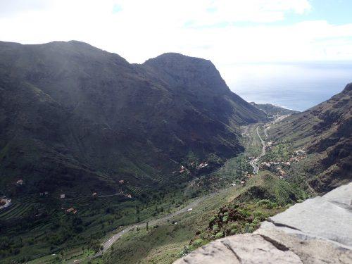 Valle Gran Rey ligger på öns västra sida.