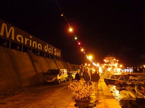 Marinan i Las Galletas.