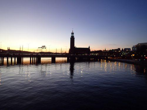 Stockholm är också vackert.