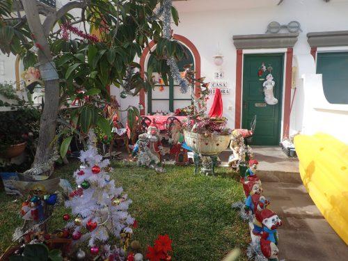 Den juligaste trädgården i Mogan 🎄🎅🏻
