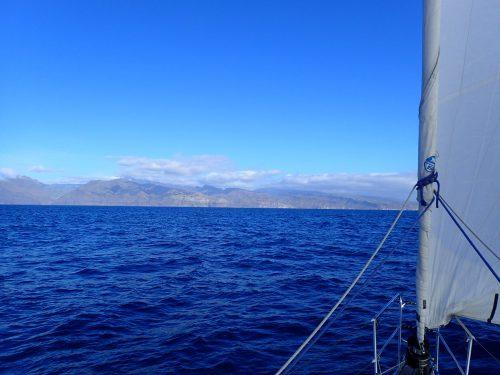 Gran Canaria i sikte.