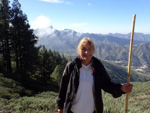 Vi hängde med på en bergsvandring mellan Cruz de Tejeda och Artenara. Det tog en stund att komma upp i bergen med buss, men det var det värt. Vi fick en härlig vandring med klart väder.